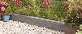 Slate Effect Garden Edging image
