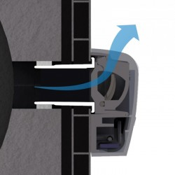 EAH  - Humidity Sensitive Air Inlet for Rolling Shutter Casings - Aereco Ltd