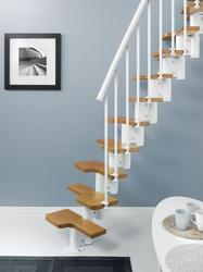 The Magia staircase kit is designed to be installed by DIY enthusiasts in any home. The simplicity of assembly and the new finishes available make these staircases perfect for any project....