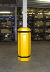Suitable for smaller columns and mezzanine floors where space is a premium. Overall outer diameter of 390mm x 435mm. To suit inner Diameter of up to 100mm squared/diameter or 160mm squared/diameter....