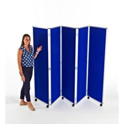 Mobile Folding Concertina Screens - Adboards Ltd
