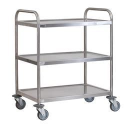 Stainless Steel 3 Tier Trolley Small image