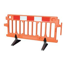 Avalon Barrier2m x 1m x -10Kg Oxford Vim Barrier1.25m x 4m x W 1.5m x 4m x W 16.8Kg 20Kg Reflective Board3m Length3.2Kg  Beaver Road Safety Barriers1m x .6m x .46m 2m x .8m x .46m10Kg Combi Barrier Available in 4m increments1m x 1.3m x 510mm -10Kg Pedestrian Guard1.5m x 1.1m x - -35Kg Site Guard3m x 2m x - -48Kg Mini Guard1.5m x 500mm x - -15Kg Oxford Strongwall Barrier1.08m x 1m x 520mm -24Kg Oxford StrongFence1m x 2m x 520mm26Kg EnduraFence2m x 1.9m x -10Kg