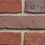 A multi red blue metallic waterstruck textured facing brick.  BEA Sexton Blaze - Technical Specification Manufacturing Standard:NEN EN 771-1  Material Used:Clay NEN EN 771-1  Active Soluble Salts:S2  C/S (N/mm²):20.0  Water Absorbtion %:12.0  Designated Durab...