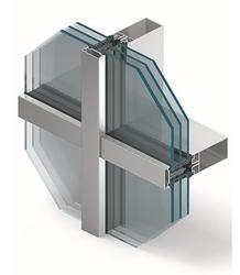 The post-and-beam façade system is designed for the construction and installation of curtain walls or infill walls as well as roofs, skylights and other spatial constructions. It is characterised by the new approach to the aluminium profiles and accessories r...