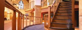At Batty Joinery, we have the advantage of employing some extremely skilled joiners who, during their time with us, have become experts in the manufacture of staircases – from simple straight flights to complex geometrical oak staircases that are fit for Sta...