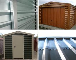 Shanette Range Insulated Metal Buildings By Hanson Garages