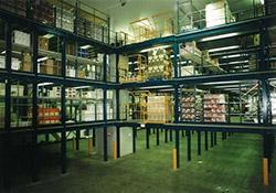Storage Platform Mezzanine Floor - Hampshire Mezzanine Floors