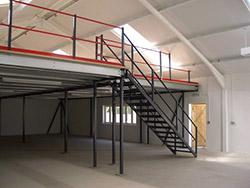 A storage platform mezzanine floor is exactly as it sounds, a mezzanine floor used for storage purposes only. It is the ideal solution to maximising the space you have available. So instead of moving premises, you use the area above you instead – creating ad...