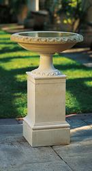 Regency Bird Bath and Pedestal image