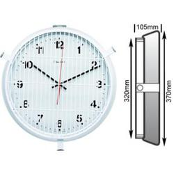 Front Protected White Clock image