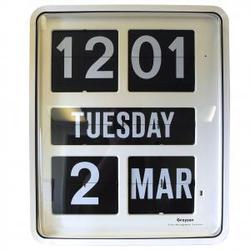 Digital Wall and Calendar Clock image