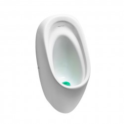 Vitreous china waterless urinals with concealed outlet. Saves water and requires no cistern or flush pipe....