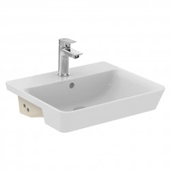 Concept Air Cube 50cm Semi-Countertop Washbasin image