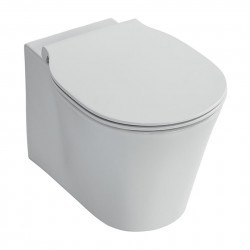 Concept Air offers a modern, fresh design which incorporates sleek, tapered toilet bowls with Aquablade flushing technology. The range has limitless versatility and a design matched, cross category offer with new storage and bathing options.
