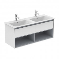 Concept Air Wall Hung Vanity Units - 1 Drawer and Open Shelf image