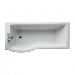 Tempo Arc 170 x 80cm Shower Bath image