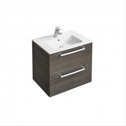 Tempo 600mm Wall-mounted Vanity Basin Unit image