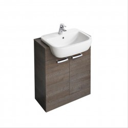 Tempo 650mm Semi-Countertop Basin Unit image