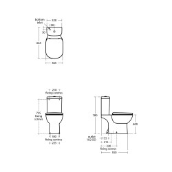 Tempo Close Coupled WC Suite - Ideal Standard