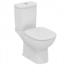 Dual flush 6/4 Litre or 4/2.6 Litre with water saving delay fill, inlet valve and standard or slow close toilet seat with cover.