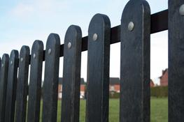 Recycled Plastic Fencing image