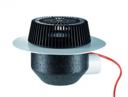 roof drain SuperDrain type 64 H PVC, heated, DN 70 image