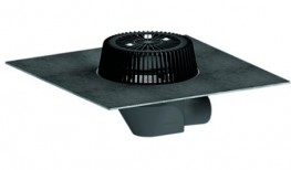 roof drain SuperDrain type 64 H DallBit, heated, DN 70 image
