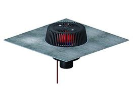roof drain SuperDrain type 62 H DallBit, heated, DN 70 image