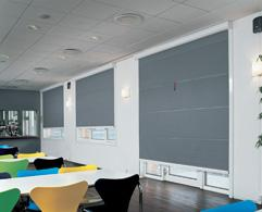 Hunter Douglas offers a range of products designed specifically to achieve light exclusion. From total blackout blinds to room darkening shades Hunter Douglas's systems are a perfect solution for photographic laboratories, conference facilities and audio vis...