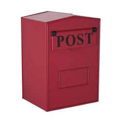 Industrial Mail Box - Red Rear Opening H.420 x W.280 x D.230mm image