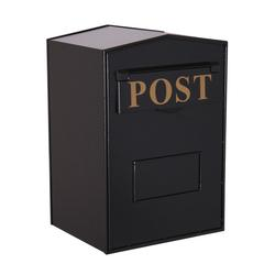 Industrial Mail Box - Black Rear Opening H.420 x W.280 x D.230mm image