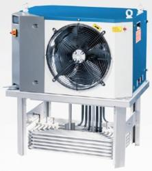Small Chillers for Oils and Emulsion Fluids  Range of 4 units with duties from 2.1kW up to 5.5kW (larger duties – see GAMMA range) Chillers for emulsion fluids (max 5% oil in fluid) Chillers for oils (max viscosity ISO VG 32) Compact Immersion chillers easy ...