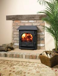 The Stovax Stockton range has been developed to offer an inset convector multi-fuel fireplace with most of the heating advantages of a freestanding Stockton stove. With its cleverly designed Cleanburn and convection systems, the Stockton 7 Inset Convector is around four times more efficient than an open fire, giving you greater control of combustion, more heat for your money and lower fuel costs.  There is also an integral boiler version which produces up to 30,000 BTU's of hot water.