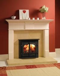Stockton 8 Wood Burning & Multi-fuel Inset Convector Stoves image