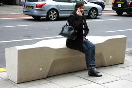 The Camden bench evolved from designs developed for Camden Borough Council. It is designed with today's street seating needs in mind, such as resisting criminal and anti-social behaviour: – Deters rough sleeping – ridged top and sloped surfaces make it d...