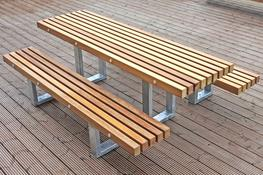 The Tord bench has a simple yet attractive contemporary design. It is suitable for use in a variety of urban street scenes and is capable of withstanding the heaviest town centre use. It features profiled FSC® timber slats mounted onto galvanised steel box se...