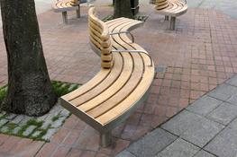The Spline Tree seat is a feature seat with an attractive wave form that provides dual aspect public seating in a contemporary style. It shares similar design elements to other members of our Tree range. It features a durable stainless steel frame and easily r...