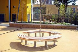 The Access Tree bench is designed to provide seating around a tree, column or other central feature. However, the bench is free standing and could, therefore, be used in any public space. As its name suggests, the bench does not fully enclose the tree. Its two...