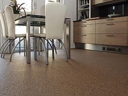 Clearmac® Quartz seamless quartz flooring image