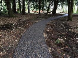 Clearmac® Eco sustainable porous paving image