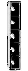 Classic Locker - 5 Tier image