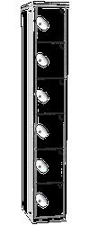 Classic Locker - 6 Tier image