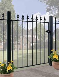 Saxon Wrought Iron Style Metal Garden Gate image