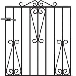 Winchester Metal Garden Gate image