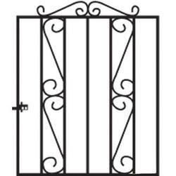 Clifton Metal Garden Gate image