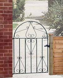 Classic Low Bow Metal Garden Gate image