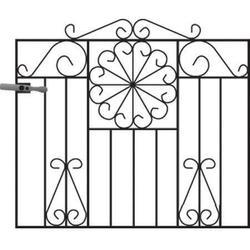Regency Metal Garden Gate image