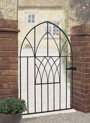 Abbey Metal Garden Gate image