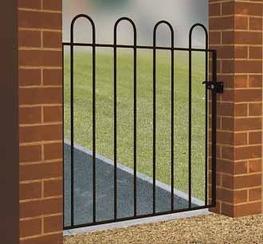 Court Metal Garden Gate image
